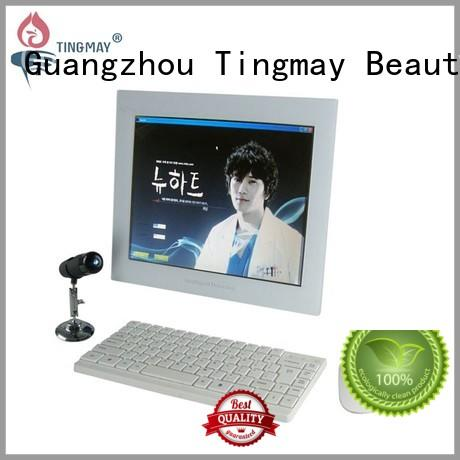touch screen skin analyzer machine design for woman Tingmay