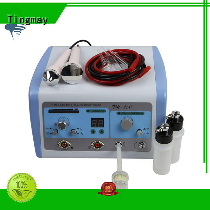 Tingmay galvanic high frequency facial machine factory for household