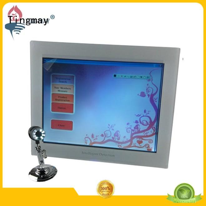 skin analyzer equipment touch machinetm107t hair Tingmay Brand skin scanner machine