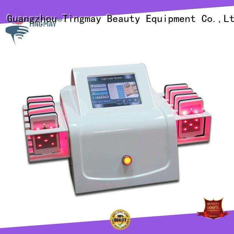 Tingmay heathy laser fat removal machine supplier for woman