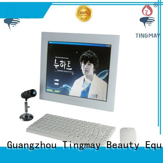 Tingmay touch screen skin test machine supplier for man