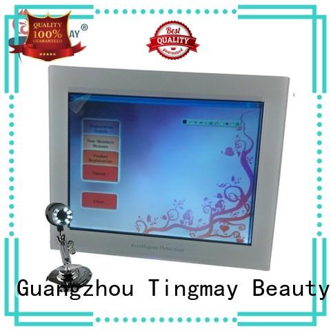 touch screen skin analyzer machine keyboard for woman Tingmay