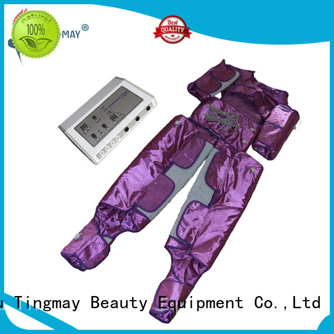 heathy lymph drainage machine heating zones personalized for woman