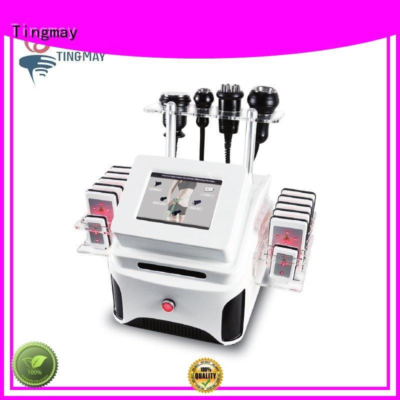 Vacuum Cavitation RF+ Lipo Laser+ polar RF+Tripolar RF Slimming Machine TM-913