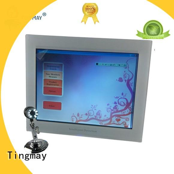 Tingmay beauty skin test machine supplier for man