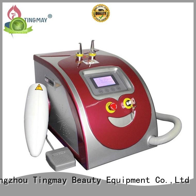 Tingmay salon laser tattoo removal machine price from China for woman
