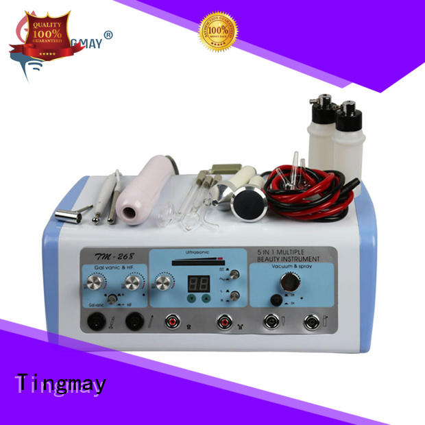 Tingmay tm266 galvanic facial machine personalized for woman