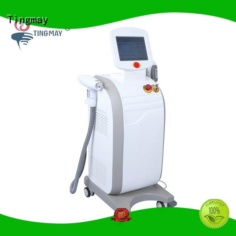 Tingmay Brand yag rf hair nd yag laser hair removal machine opt