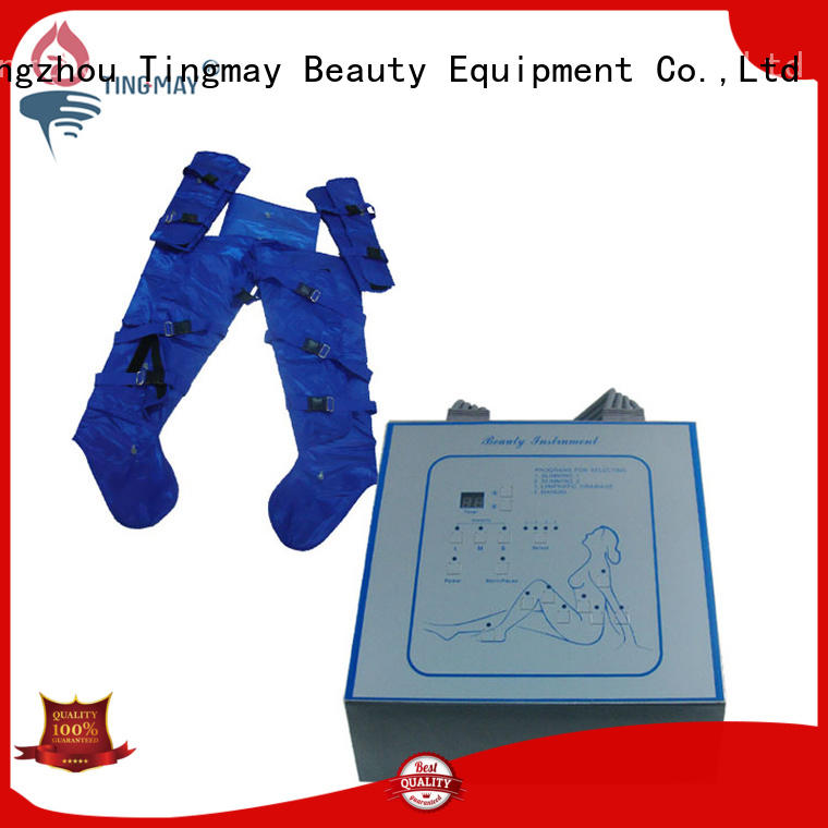 infrared lymph drainage machine presso therapy factory for body