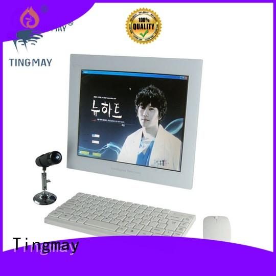 beauty skin scanner machine touch screen design for woman