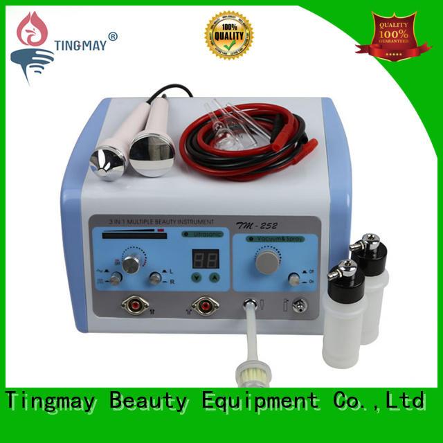 oxygen infusion skin care beauty machine galvanic Tingmay Brand oxygen infusion facial machine