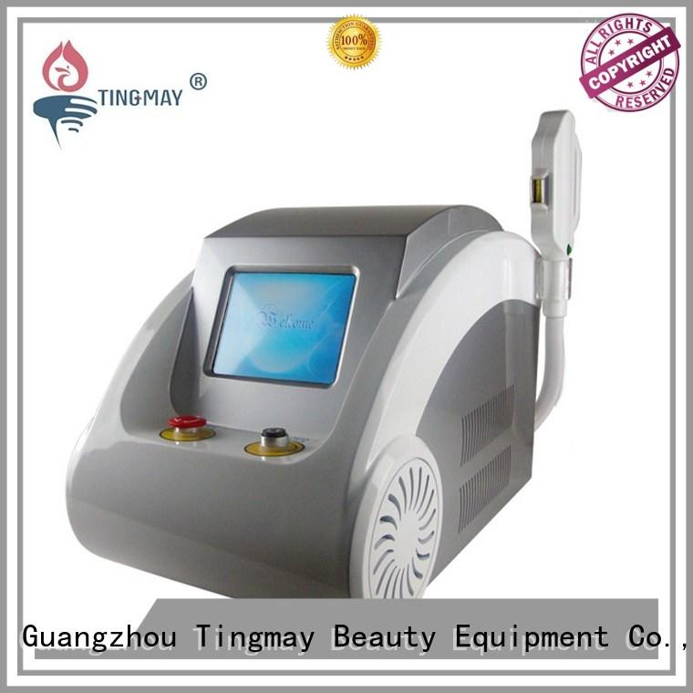 Tingmay Brand custom laser hair removal for light hair