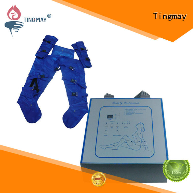 Tingmay infrared lymph drainage equipment massager for body