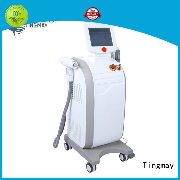 OPT SHR+ND YAG LASER machine for hair removal , tattoo machine TM-135